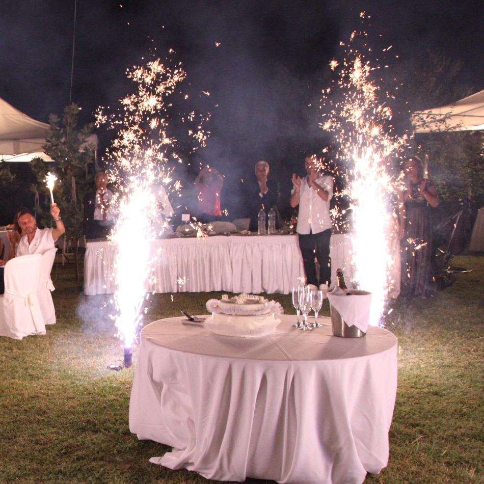Acrotel Wedding - Fireworks service